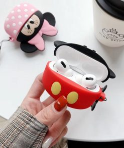 Disney 'Mickey and Minnie Cupcake' Premium AirPods Pro Case Shock Proof Cover