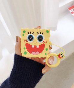 Spongebob 'Excited' Premium AirPods Pro Case Shock Proof Cover