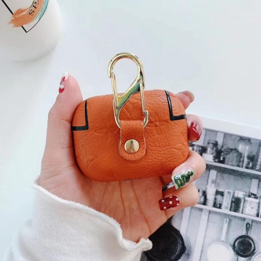 Studded Vegan Leather AirPods Pro Case Shock Proof Cover