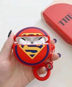 Superman 'Gold Blue and Red' Premium AirPods Pro Case Shock Proof Cover