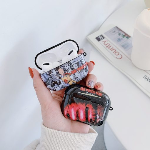 One Punch Man AirPods Pro Case Shock Proof Cover