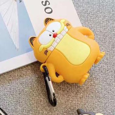Garfield 'Standing' Premium AirPods Case Shock Proof Cover