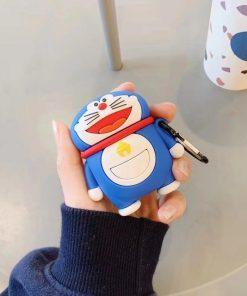 Doraemon 'Standing' Premium AirPods Case Shock Proof Cover