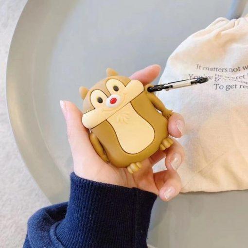 Cute Chipmunk 'Standing' Premium AirPods Pro Case Shock Proof Cover