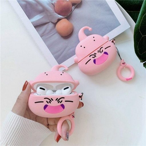 Dragon Ball Z 'Laughing Buu' AirPods Pro Case Shock Proof Cover