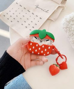 Cute Strawberry Premium AirPods Pro Case Shock Proof Cover