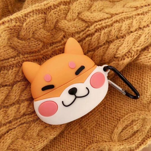 Cute Smiling Corgy Premium AirPods Pro Case Shock Proof Cover