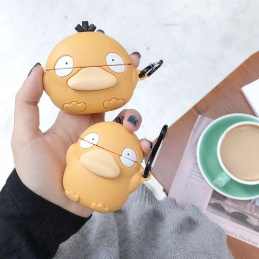 Pokemon 'Round Psyduck' Premium AirPods Pro Case Shock Proof Cover