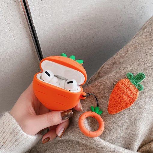 Cute Carrot Premium AirPods Pro Case Shock Proof Cover