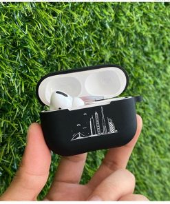Black Silicone AirPods Pro Case Shock Proof Cover