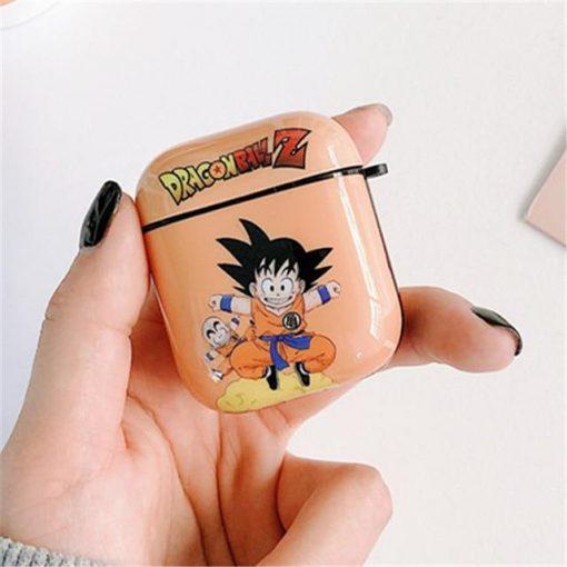 Dragon Ball Z 'Goten   Krillin' AirPods Case Shock Proof Cover