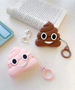 Poop Emoji Premium AirPods Pro Case Shock Proof Cover