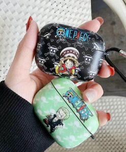 One Piece 'Luff | Zoro | Chopper' AirPods Pro Case Shock Proof Cover