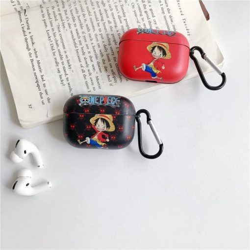 One Piece 'Excited Luffy' AirPods Pro Case Shock Proof Cover