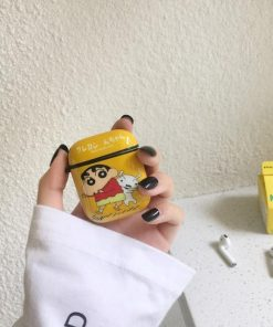 Shin Chan 'Yellow' AirPods Case Shock Proof Cover
