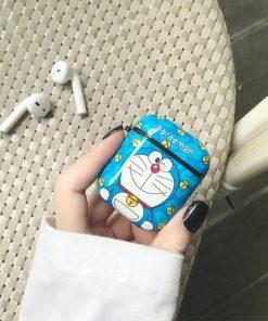 Doraemon 'Mini-Dora' | Winking' AirPods Case Shock Proof Cover