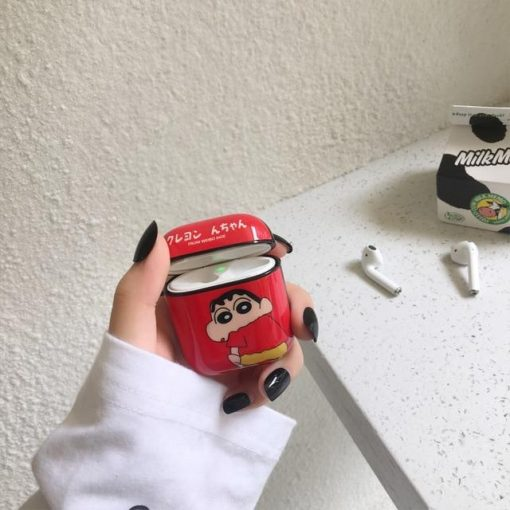 Shin Chan 'Red' AirPods Case Shock Proof Cover