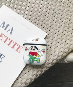 Shin Chan 'White' AirPods Case Shock Proof Cover