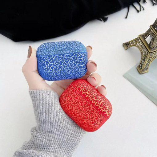 Color Lava Silicone AirPods Pro Case Shock Proof Cover