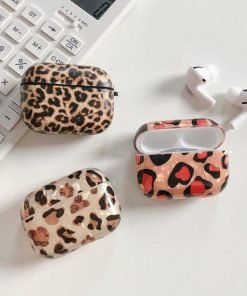 Animal Print Plastic | TPU AirPods Pro Case Shock Proof Cover