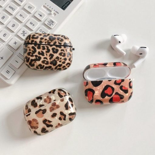 Animal Print Plastic   TPU AirPods Pro Case Shock Proof Cover