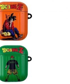 Dragon Ball Z 'Goku   Piccolo' AirPods Case Shock Proof Cover