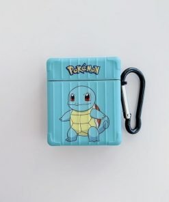Pokemon 'Pikachu   Bulbasaur   Squirtle   Charmander' AirPods Case Shock Proof Cover