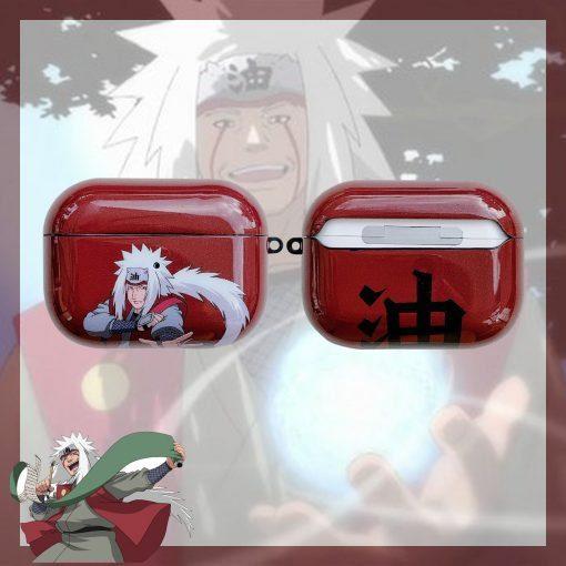 Naruto 'Jiraiya' AirPods Pro Case Shock Proof Cover