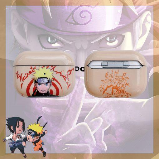 Naruto 'Uzumaki' AirPods Pro Case Shock Proof Cover