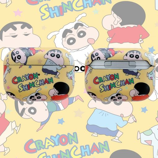 Crayon Shin Chan AirPods Pro Case Shock Proof Cover
