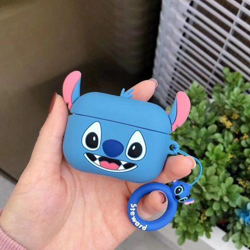 Lilo and Stitch 'Smiling Stitch' Premium AirPods Pro Case Shock Proof Cover