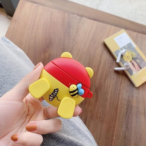 Winnie the Pooh 'Booty' Premium AirPods Case Shock Proof Cover