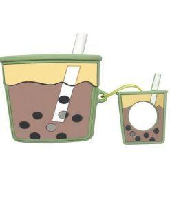 Milk Bubble Tea Premium AirPods Pro Case Shock Proof Cover