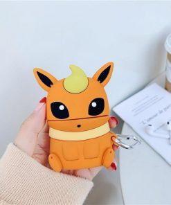 Pokemon 'Flareon' Premium AirPods Case Shock Proof Cover