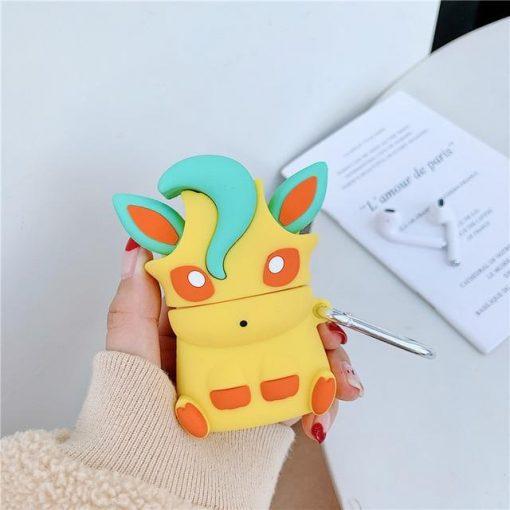 Pokemon 'Leafeon' Premium AirPods Case Shock Proof Cover