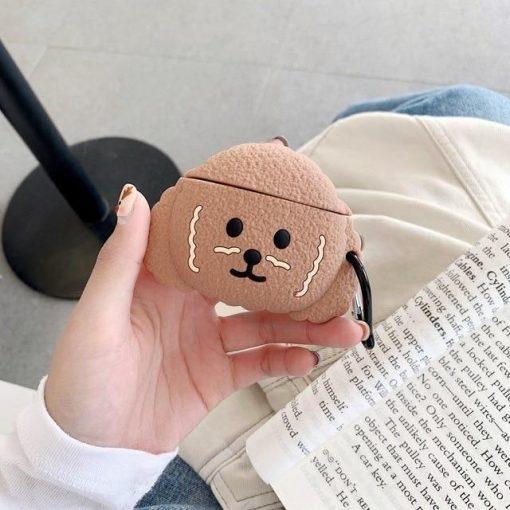 Cute Puppy Premium AirPods Pro Case Shock Proof Cover