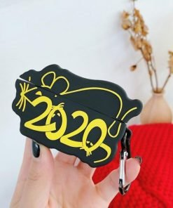 New Year 2020 'Year of the Rat' Premium AirPods Case Shock Proof Cover
