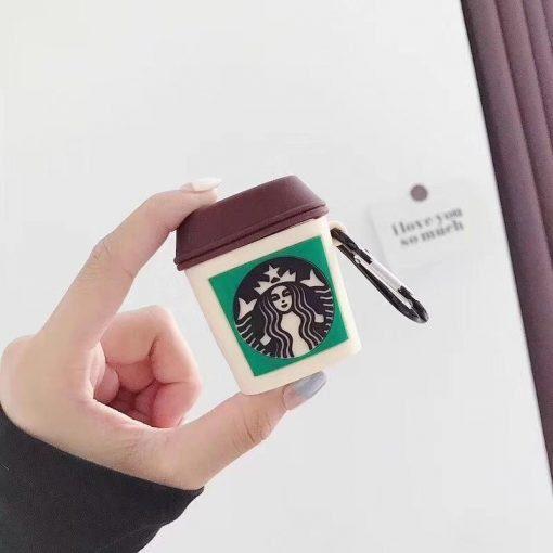Starbucks 'Espresso Shot' Premium AirPods Case Shock Proof Cover