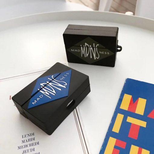 MDNS Madness Fashion Box Premium AirPods Pro Case Shock Proof Cover