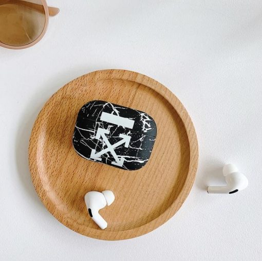 Off White AirPods Pro Case Shock Proof Cover