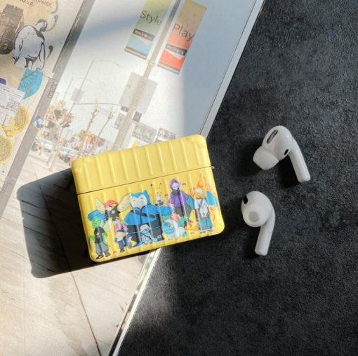 Pokemon 'Gangs All Here | Modular' AirPods Pro Case Shock Proof Cover