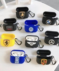 Mercedes Benz Silicone AirPods Pro Case Shock Proof Cover
