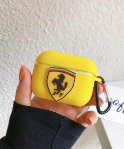 Ferrari Silicone AirPods Pro Case Shock Proof Cover