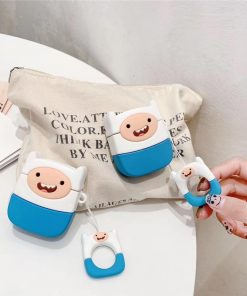 Adventure Time 'Finn the Human' Premium AirPods Case Shock Proof Cover