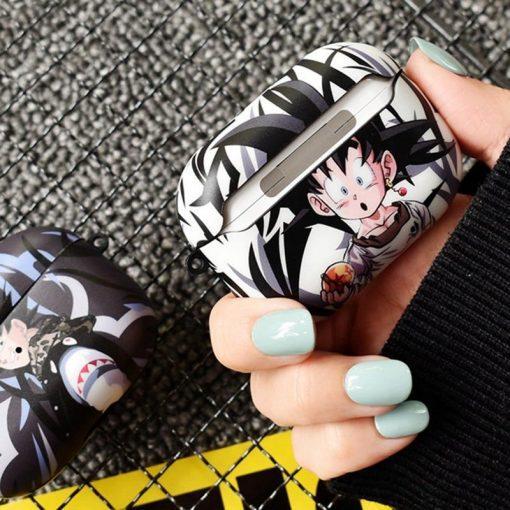 Dragon Ball Z 'Goten | Goku Black' AirPods Pro Case Shock Proof Cover