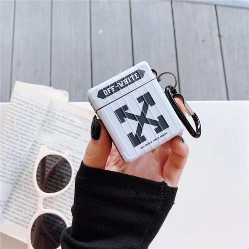 Off White 'Modular' AirPods Case Shock Proof Cover