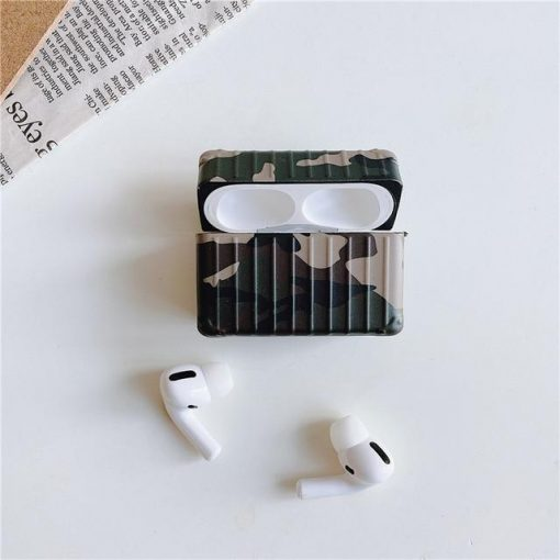 Camouflage AirPods Pro Case Shock Proof Cover