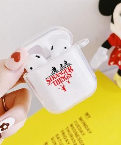 Stranger Things Clear Acrylic AirPods Case Shock Proof Cover
