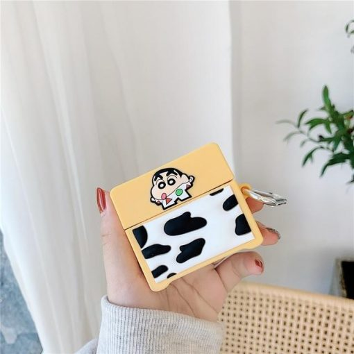 Shin Chan 'Cow' Premium AirPods Pro Case Shock Proof Cover