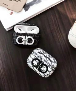 Italy Luxury Graffiti 'SF' AirPods Pro Case Shock Proof Cover
